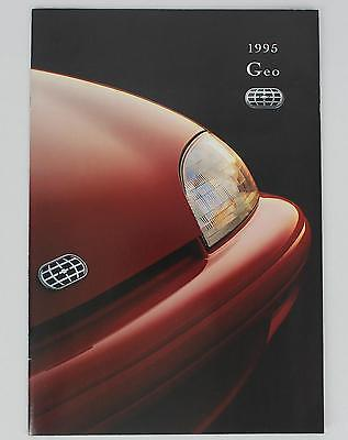 GM 1995 Geo Sales Brochure / Literature