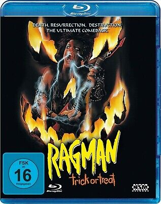 Halloween Trick Or Treat Dvd (TRICK OR TREAT aka RAGMAN (1986) Ozzy Osbourne Blu-Ray Import NEW Free)
