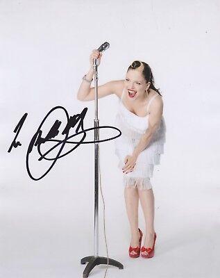 Imelda May HAND SIGNED 8x10 Photo, Autograph, Love Tattoo, Mayhem, Tribal