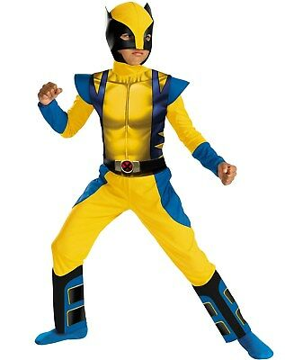 X-MEN Origins Wolverine costume size 7-8 Medium Costume Child New Marvel 2009](Wolverine Child Costume)
