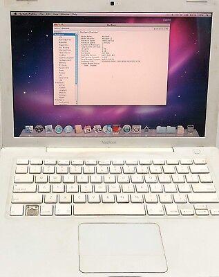"""Apple MacBook A1181 13.3"""" Laptop - MA254LL/A (May, 2006) 2GB Ram, 250GB HDD"""