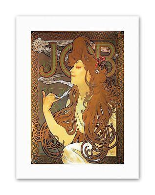 Mucha-job (NOUVEAU MUCHA JOB 1896 Painting Old Master Canvas art Prints)