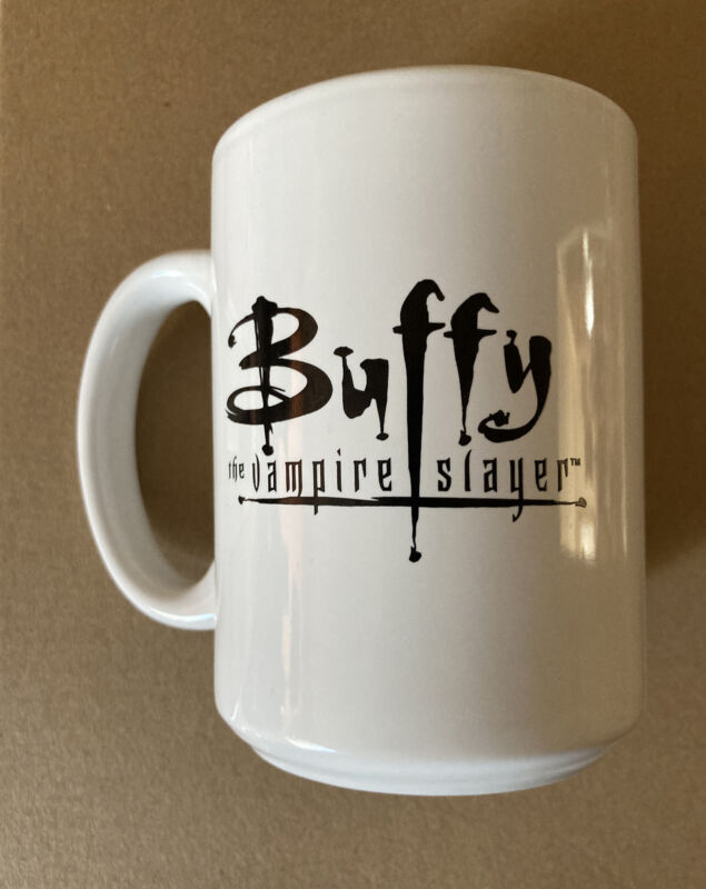 Vintage Buffy The Vampire Slayer Coffee Mug 1990's FOX RARE