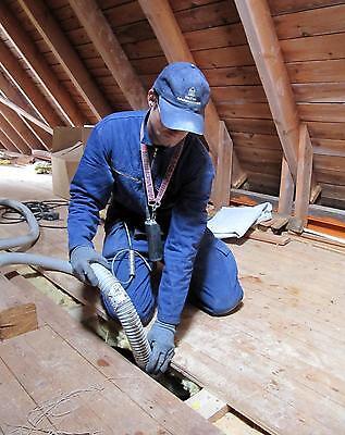 Dach & Wanddämmung aus Zellulose 200 mm