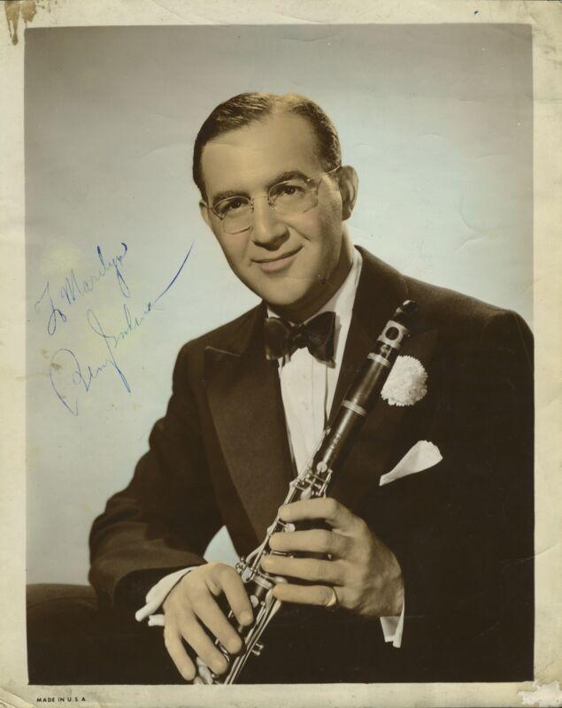 Benny GOODMAN (Jazz): Signed Photograph