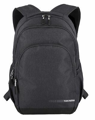 travelite Kick Off Backpack L Rucksack Tasche Anthracite Schwarz