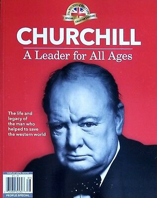 People Special Collectors Magazine Churchill A Leader For All Ages 2018 New