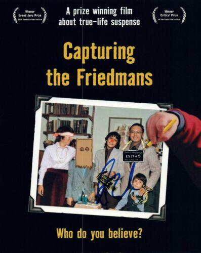 Andrew Jarecki Signed Autographed 8x10 Photo Capturing the Friedmans COA VD