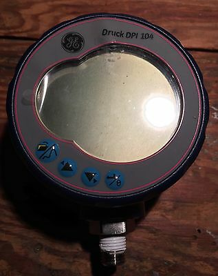 Ge Druck Dpi 104 Digital Pressure Gauge 30 Psia 0-5v Output Selectable Units