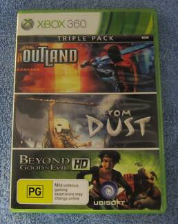 OUTLAND, FROM DUST, BEYOND GOOD AND EVIL TRIPLE PACK - XBOX 360
