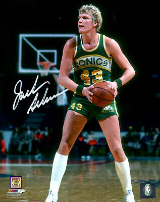16x20 Hall Of Fame Photo - Supersonics JACK SIKMA Signed 16x20 Photo #2 AUTO - Hall of Fame - 7 x All Star