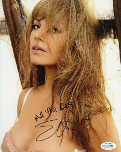 Erica Durance Smallville Sexy Autographed Signed 8x10 Photo ACOA  #5
