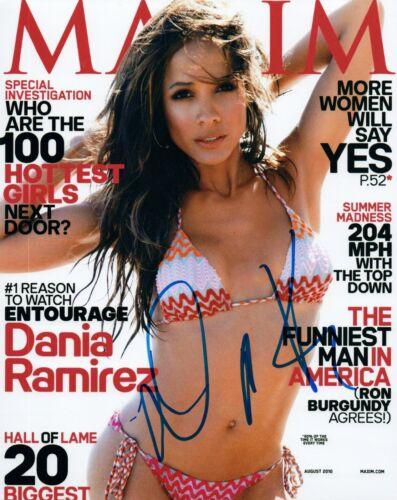Dania Ramirez Signed Autographed 8x10 Photo Devious Maids Maxim Model Hot COA VD