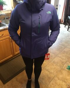 New North Face insulated jacket