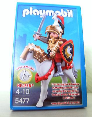 Playmobil Goldener Ritter Christopher 5477  Sonderfigur Burg Ritter OVP Neu