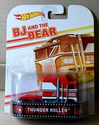 "Hot Wheels ""Retro Entertainment""  BJ and the Bear ""Thunder Roller"" Semi"