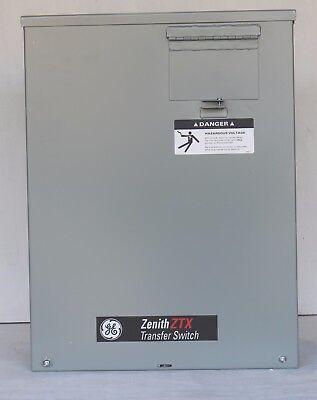 Brand New Ge Zenith Ztx Transfer Switch Model 071201 100 Amp In Original Box