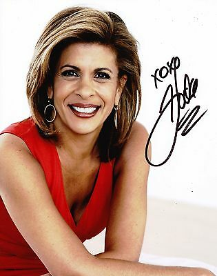 Hoda Kotb Autographed 8X10 Photo  Reproduction