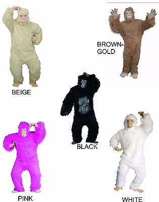 GORILLA APE ADULT UNISEX WOMAN & MEN MASCOT ANIMAL GORILLA COSTUME HALLOWEEN