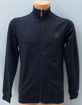 VERSACE 1969 Navy Blue Full Zip Track Top Jacket Size XXL BNWT