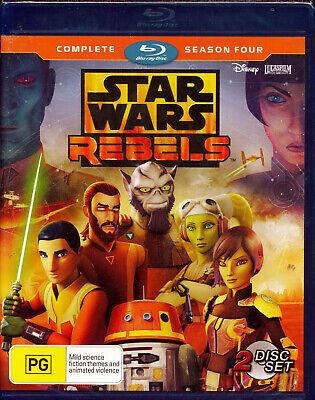 Star Wars Rebels Complete Season Four 4 Blu-ray NEW