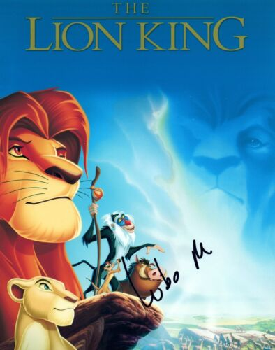 Lebo M. Morake Signed Autograph THE LION KING 8x10 Photo Composer COA
