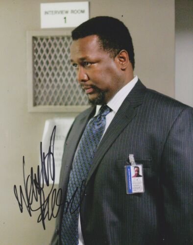Wendell Pierce Signed The Wire 10x8 Photo AFTAL