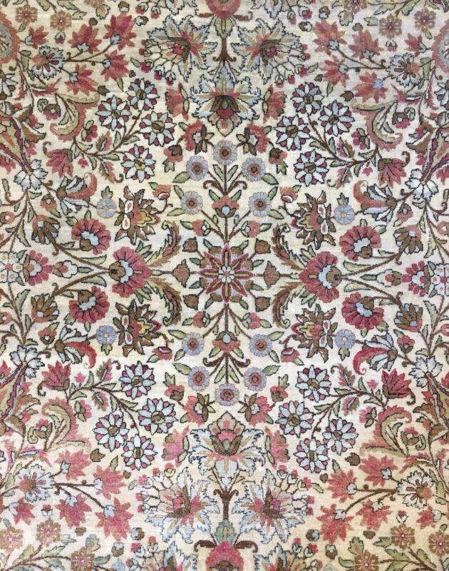 Fantastic Floral - 1910s Antique Oriental Rug - Nomadic Carpet - 9.9 X 13.3 Ft