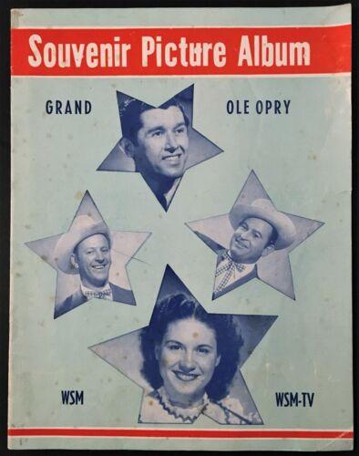 "1954 WSM ""GRAND OLE OPRY"" SOUVENIR PROGRAM - KITTY WELLS, JOHNNIE & JACK, ACUFF"