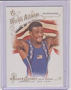 2014 ALLEN & GINTER JORDAN BURROUGHS CARD #191 ~ OLYMPIC WRESTLING ~ MULTIPLES