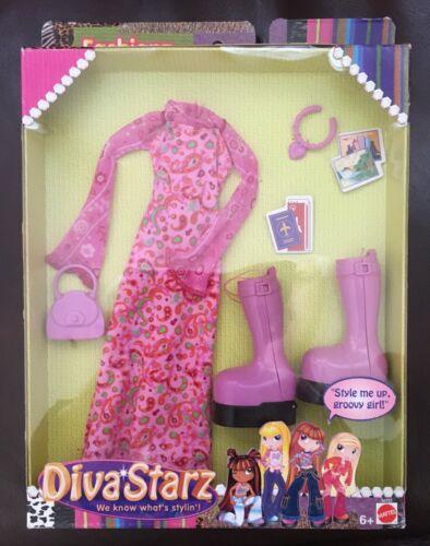 2002 MATTEL DIVA STARZ FASHIONZ Outfits Clothing NIB