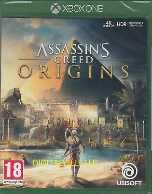 Assassins Creed Origins Xbox One Brand New Factory Sealed Assassin's Creed