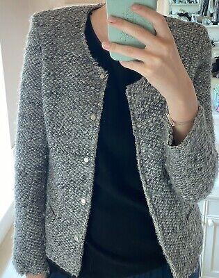 Grey Iro Wool Blazer Jacket. States A Size 2 - 8/10uk