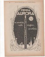 Pubblicità Vintage Penna Aurora 1922 Italian Advert Reklame Werbung Publicitè -  - ebay.it