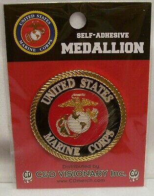 LICENSED PRODUCT UNITED STATES MARINE CORPS SELF-ADHESIVE 1.75