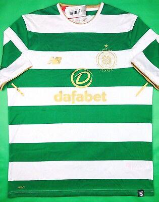 Celtic Football Shirts - NWT CELTIC 2017/18 L Home New Balance Soccer Jersey Football Shirt Glasgow Bhoys