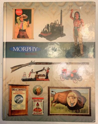 Morphy Auction Catalog Feb 2010 Marbles Steam Engine Toys Banks Tins Militaria