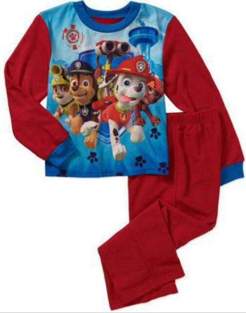 Paw Patrol Toddler Boys 2pc Flannel Pajama Set Size 8 | eBay