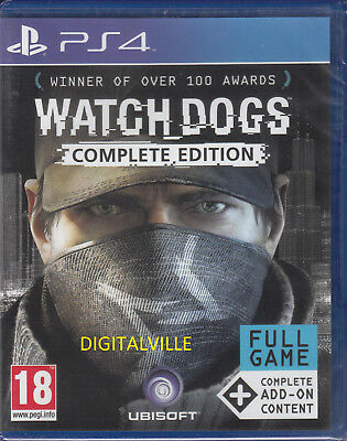 Watch Dogs Complete Edition PS4 Sony PlayStation 4 with add ons Brand New Sealed for sale  Shipping to Nigeria