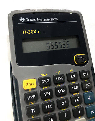 Office Texas Instruments Ti-30xa Scientific Calculator Solar Powered Office Equipment
