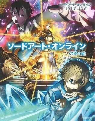Kawade Shobo Shinsha Sword Art Online Coloring Book for Adult - Coloring Online For Adults