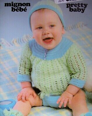 Knitting Patterns for Baby Sleeper Dress Sweater Leggings Mittens Knit Patterns ()