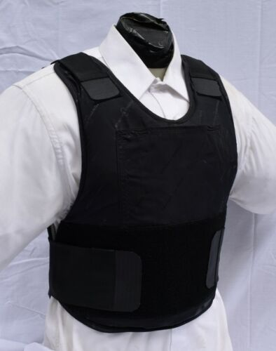 Small IIIA Concealable Body Armor Carrier BulletProof Vest with Inserts