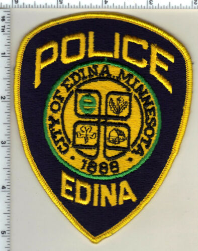 Edina Police (Minnesota) Uniform Take-Off Shoulder Patch from 1991