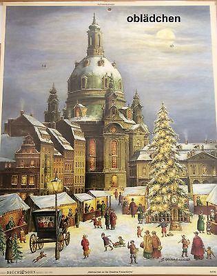# Adventskalender # Frauenkirche Dresden , Kunstverlag Brück & Sohn AK 2176
