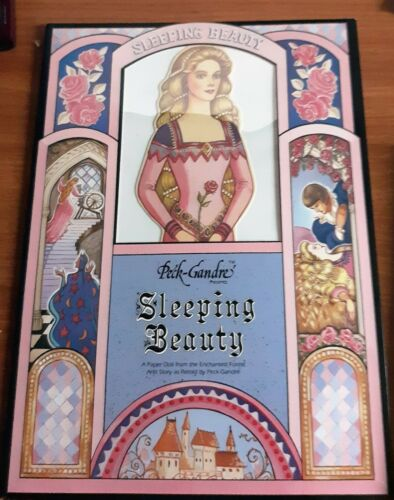 NEW 1991 PECK GANDRE SLEEPING BEAUTY  PAPER DOLLS