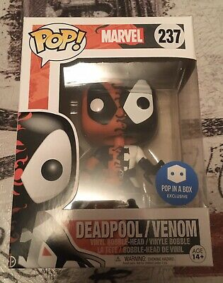 Funko POP! Marvel Deadpool Venom 237 Pop-In-A-Box Exclusive!