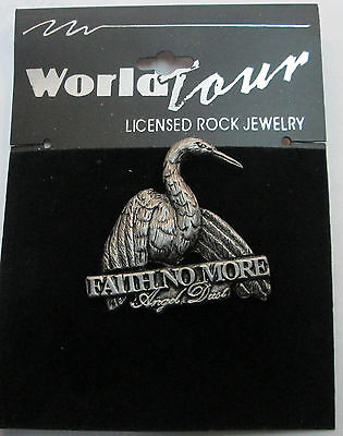 FAITH NO MORE VINTAGE METAL LAPEL PIN NEW FROM LATE 90'S METAL