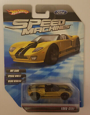 Hot Wheels Speed Machines Ford GTX1