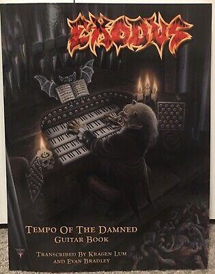 EXODUS HEAVY THRASH METAL ROCK GUITAR TAB TABLATURE SONG BOOK SOFTWARE CD
